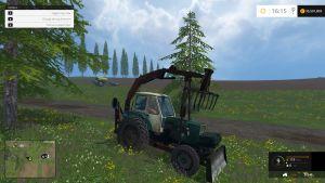 UMZ-6M grab tractor mod
