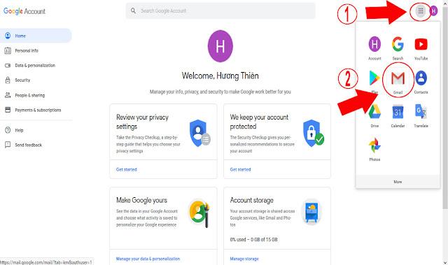 Đăng ký Gmail - Hướng dẫn đăng nhập Gmail