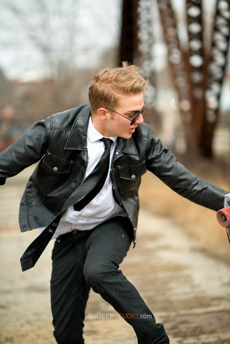 Skater Senior Pictures for Guys - Toldedo Ohio - Sudeep Studio.com
