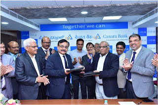 Canara Bank and The New India Assurance Co. Ltd enter into Corporate Agency Arrangement for distribution of Insurance Products