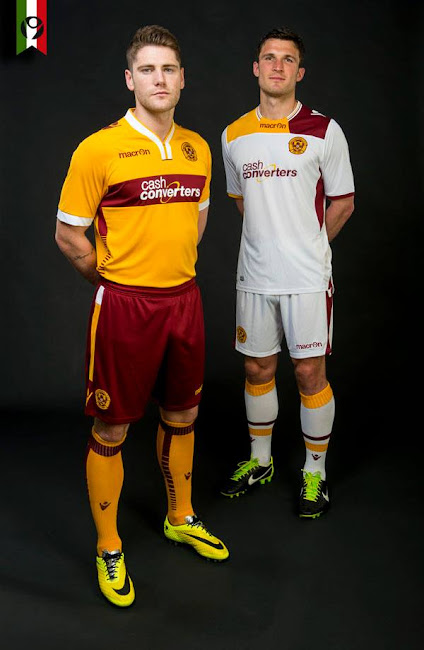 new motherwell 1415 macron home away kit released
