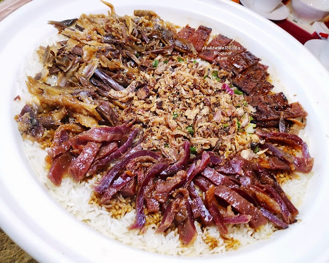 WAXED MEAT RICE IN CLAYPOT