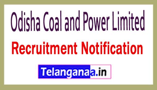 Odisha Coal and Power Limited OCPL Recruitment