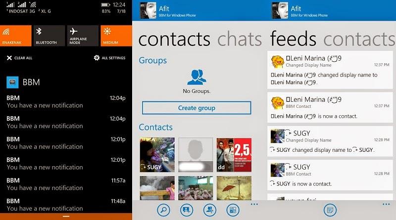 Tips Install Blackberry Messager Pada Platform Windows Phone