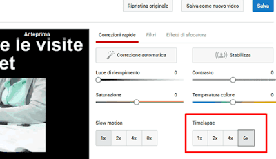 Come velocizzare un video su Youtube