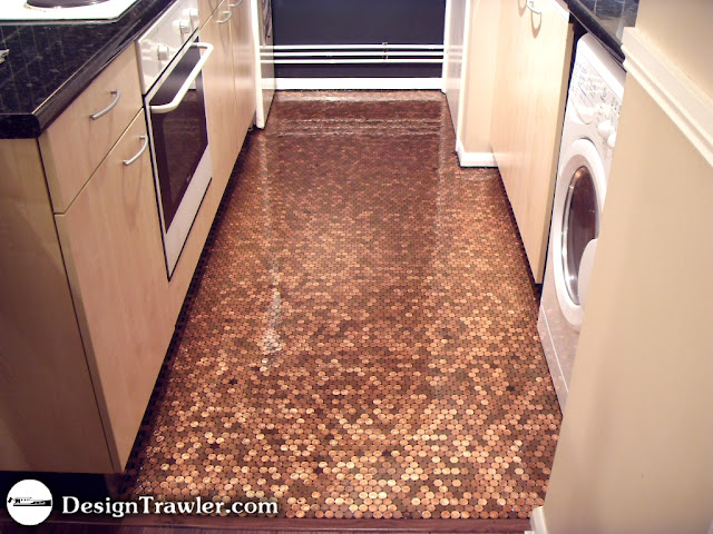 Copper Penny Floor