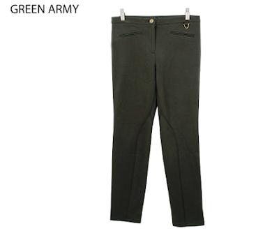 TALBOTS Woman Legging green army