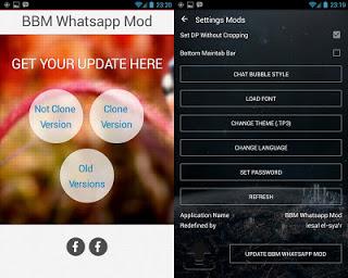 BBM Mod WhatsApp v3.0.1.25 Apk Terbaru