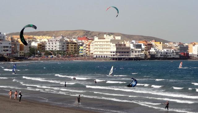 sport alla Playa del Medano, Tenerife