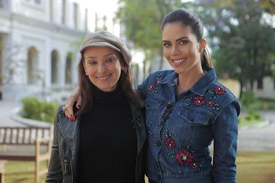 Sabrina Parlatore e Daniela Albuquerque - Créditos Fotos: Artur Igrecias/Divulgação RedeTV!