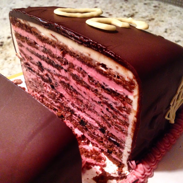 Uber-layered Birthday Cake