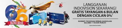 Promo Indovision Bayar 6 Bulan Gratis 6 Bulan Bersama MNC Bank Kartu Kredit