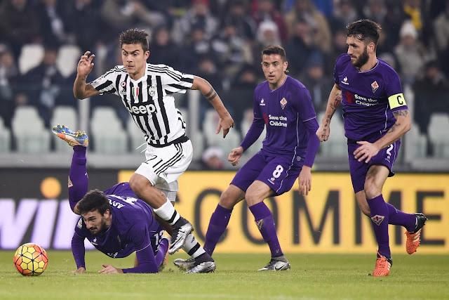 Juventus Fiorentina 2-1 prima campionato