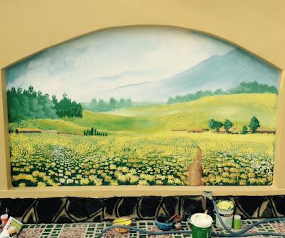 hoa si ve tranh tuong 3D Binh Duong