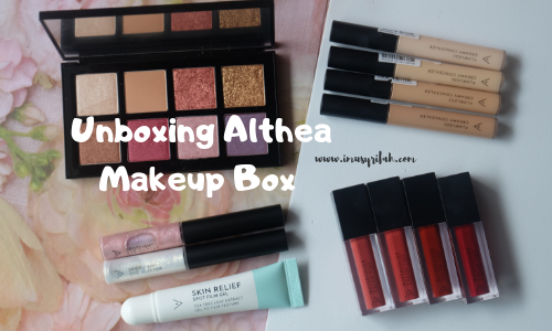 Unboxing Althea Makeup Box!