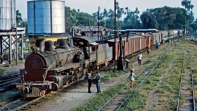 Tren en Guatemala