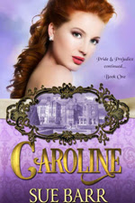 Book cover: Caroline by Sue Barr