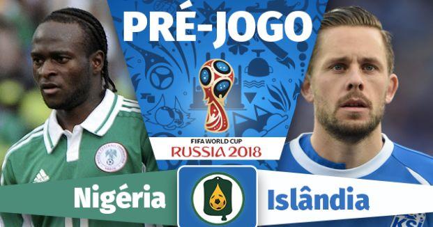 Assistir Jogo Nigéria e Islândia ao Vivo