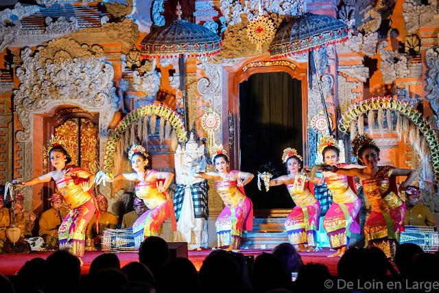 Lebong Danse - Palais d'Ubud - Ubud - Bali