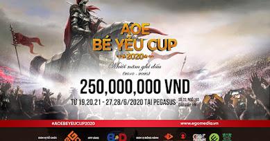 BÉ YÊU CUP 2020 CHÍNH THỨC KHỞI TRANH