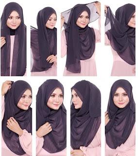Tutorial Hijab Pashmina 2015