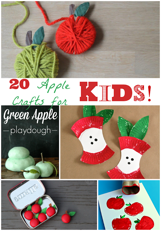 Apple Crafts!