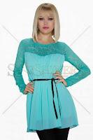Bluza Distinct Sensation Turquoise