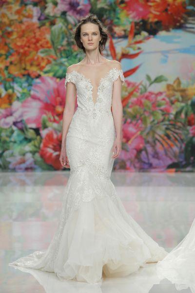 Outfits de vestidos de novias | Colección Hombros Caidos