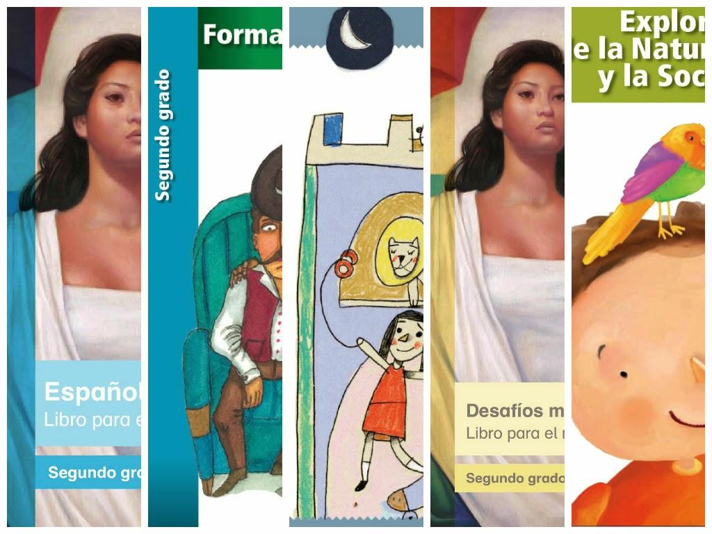Libros De Texto 2014-2015 PDF Segundo Grado