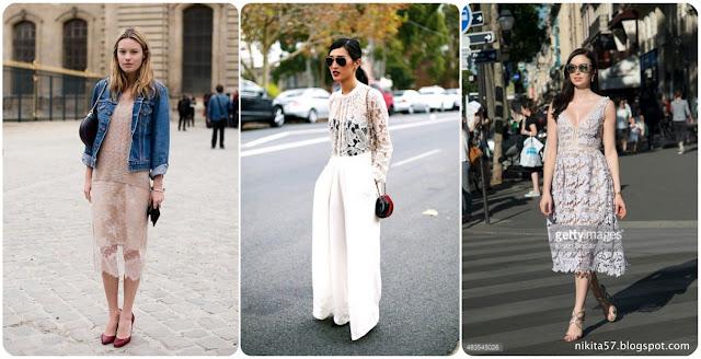 ▌街拍時尚 ▌時尚圈每個女孩都應該要有的蕾絲單品 – 蕾絲洋裝整理報導