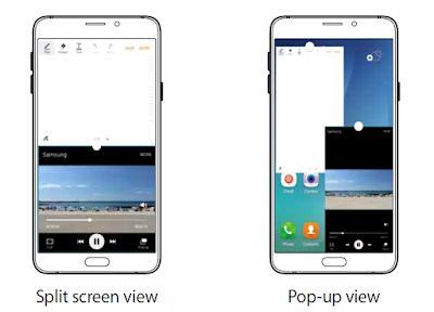 Galaxy Note 5 Multiple Window Manual Instruction