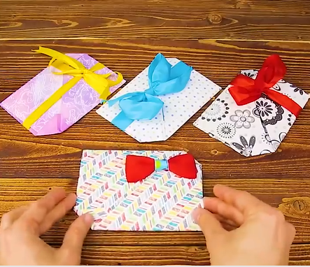 7 easy steps to make beautifull kids paper bows