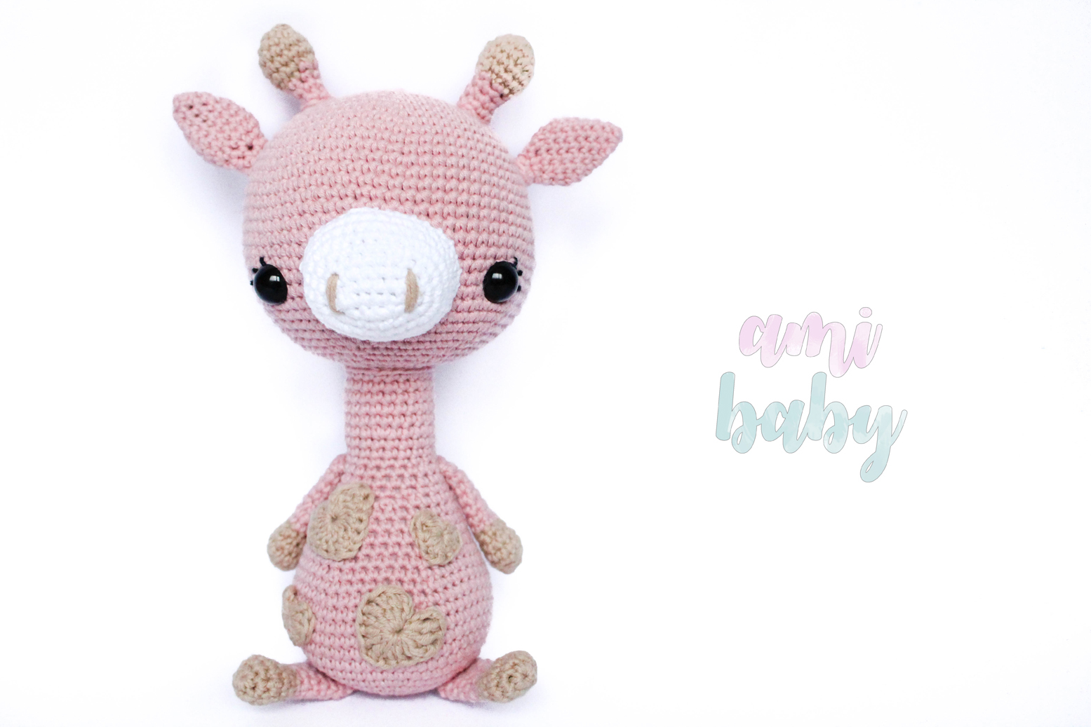 Giraffe amigurumi for babies by Storyland Amis.Jirafa para bebés de ...