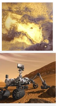 is there gold on mars