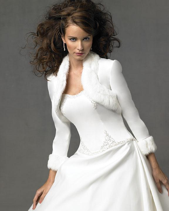 Big Shark: Winter Wedding Dress Jackets