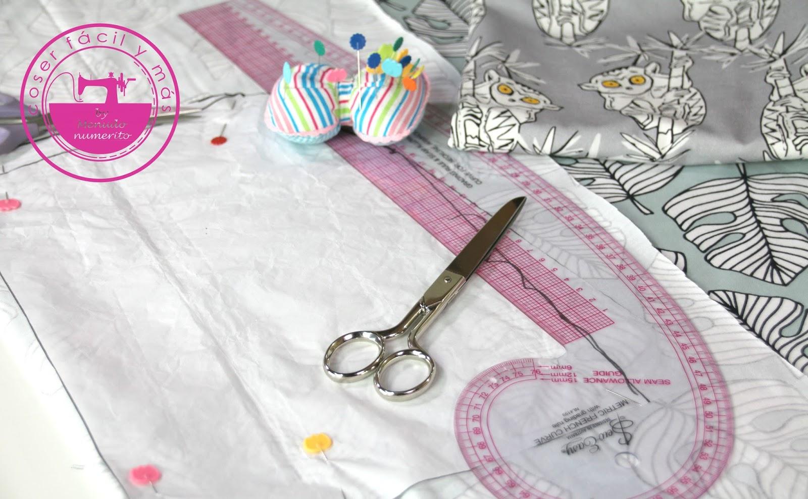 Cómo trazar el patrón de una falda evasé - El blog de Coser fácil y ...