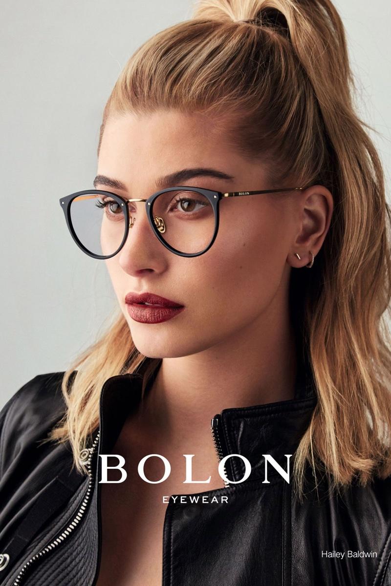 Hailey Baldwin Is the New Face of Bolon Eyewear