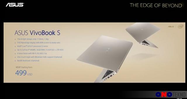 Harga ASUS VivoBook S15 ( S510 )