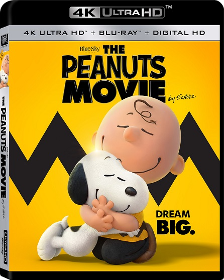 The Peanuts Movie 4K (Snoopy y Charlie Brown: Peanuts, La Película 4K) (2015) 2160p 4K UltraHD HDR BDRip 4.6GB mkv Dual Audio AC3 5.1 ch