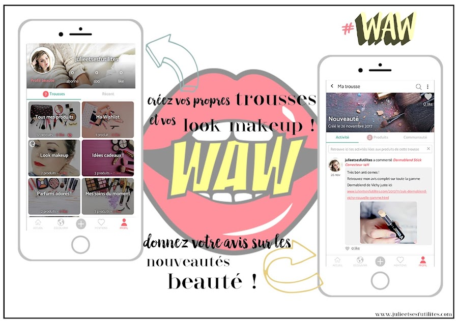 avis application waw beauté