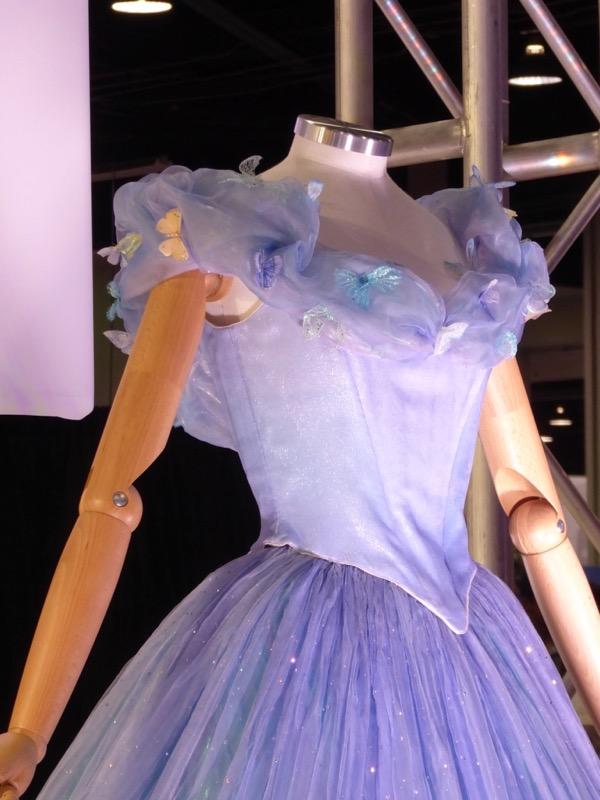 Cinderella ballgown butterfly detail