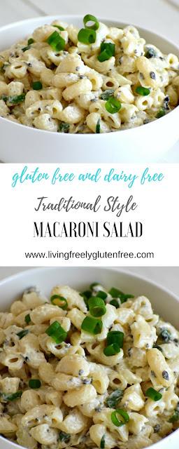PIN for gluten free macaroni salad recipe