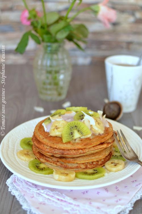Pancakes véganes