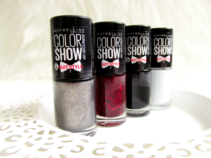 Review & Swatches: Maybelline Suit Style Limited Collection