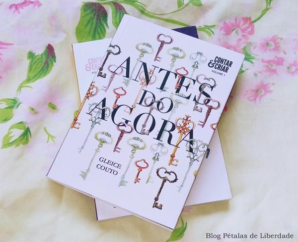 Resenha, livro, Antes-do-agora, Gleice-Couto, conto, contar-e-criar, capa, opiniao, critica, trechos, automutilação, new-adult, fotos
