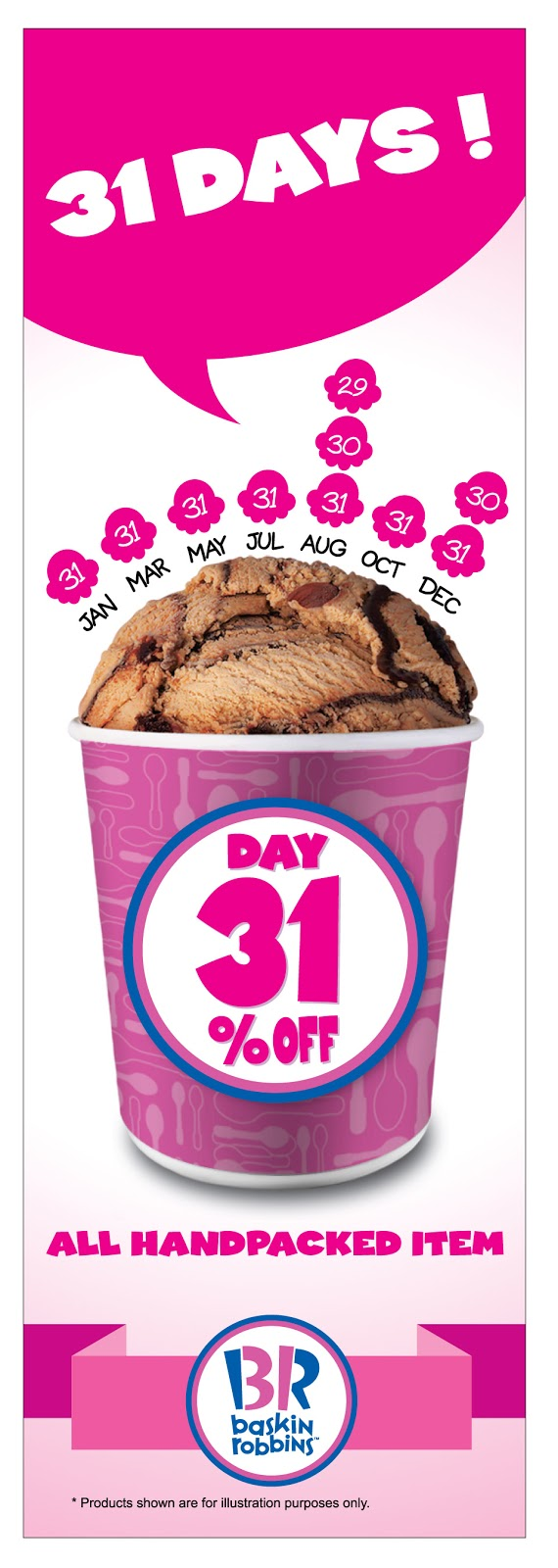 Baskin-Robbins Malaysia Discount Promotion