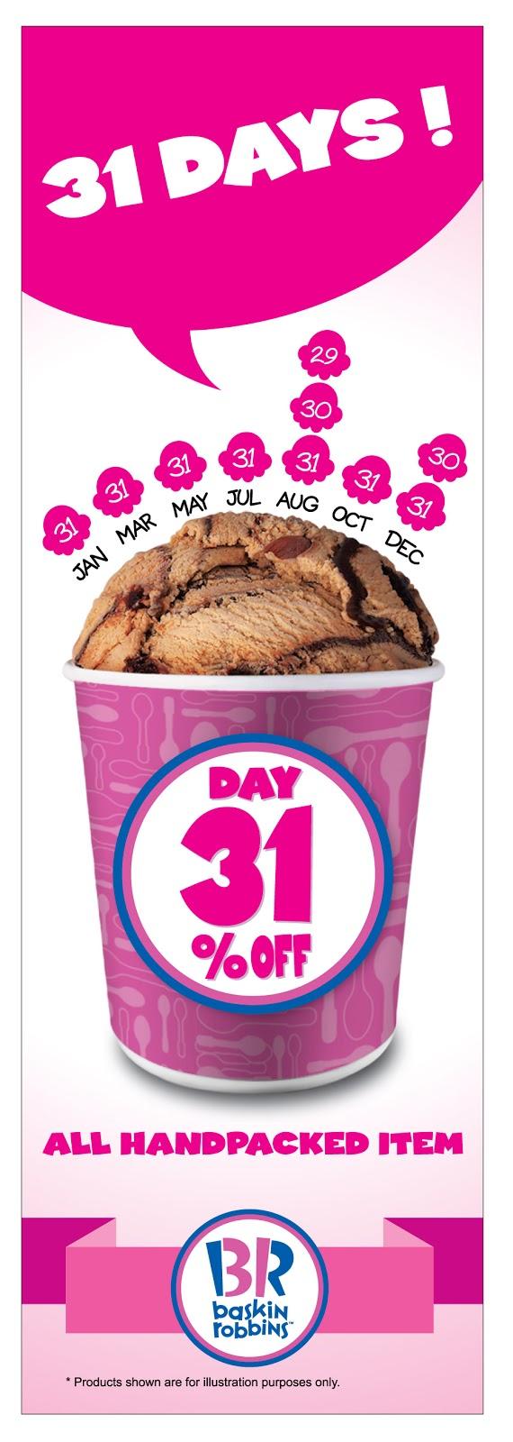 Baskin-Robbins Malaysia Discount Promotion