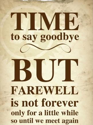 no goodbyes just till we meet again lyrics