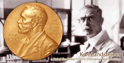 Karl Landsteiner a Nobel the Nobel Prize in Physiology and Medicine