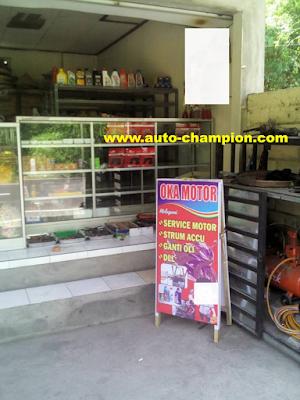 bengkel sepeda motor bali Indonesia